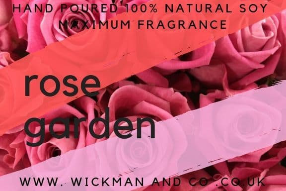 Rose Garden Soy Wax Candle